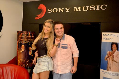 Camila e Haniel ? foto: Divulgação/ Sony Music